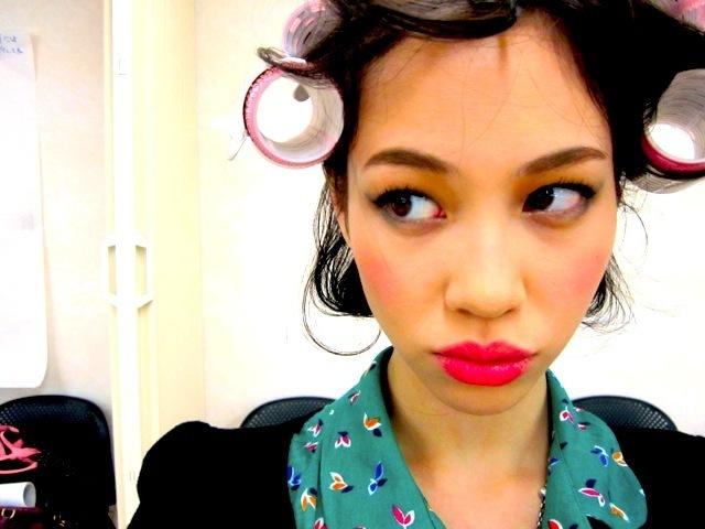 水原希子 髪型 おしゃれ女子がなりたいスタイルNo.1ヘア カール編