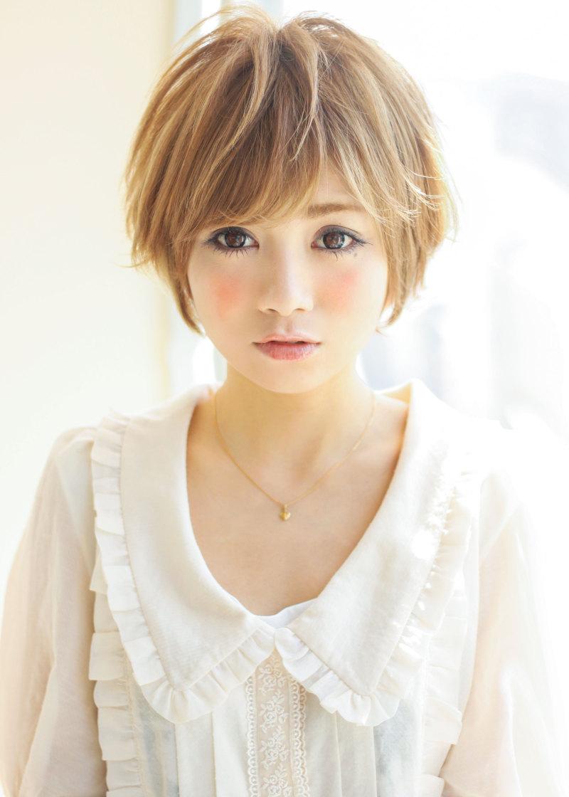 【髪型】夏にオススメの愛されショートヘア\(^o^)/