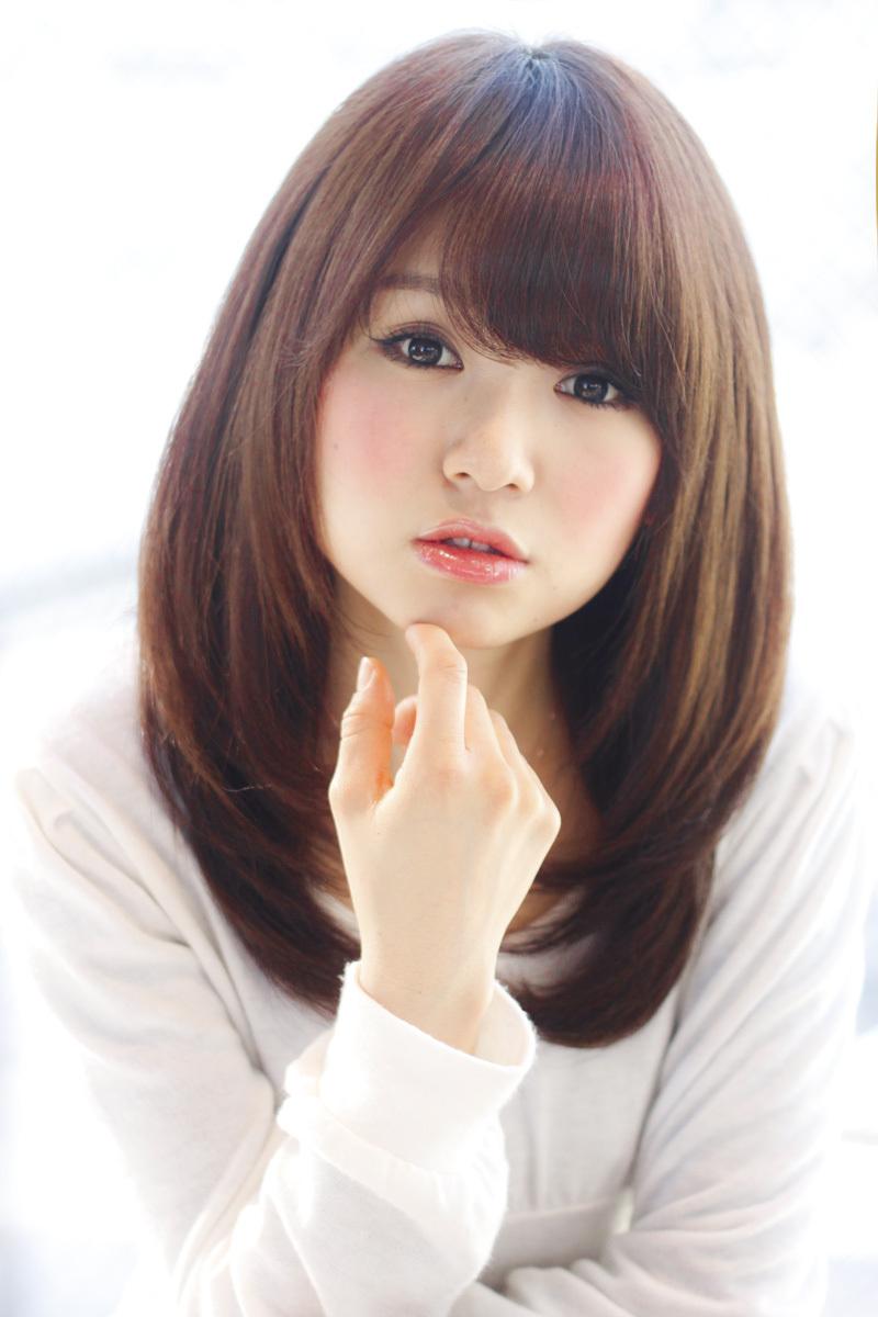 【髪型】艶と丸みのあるストレート×ワンカールヘア☆