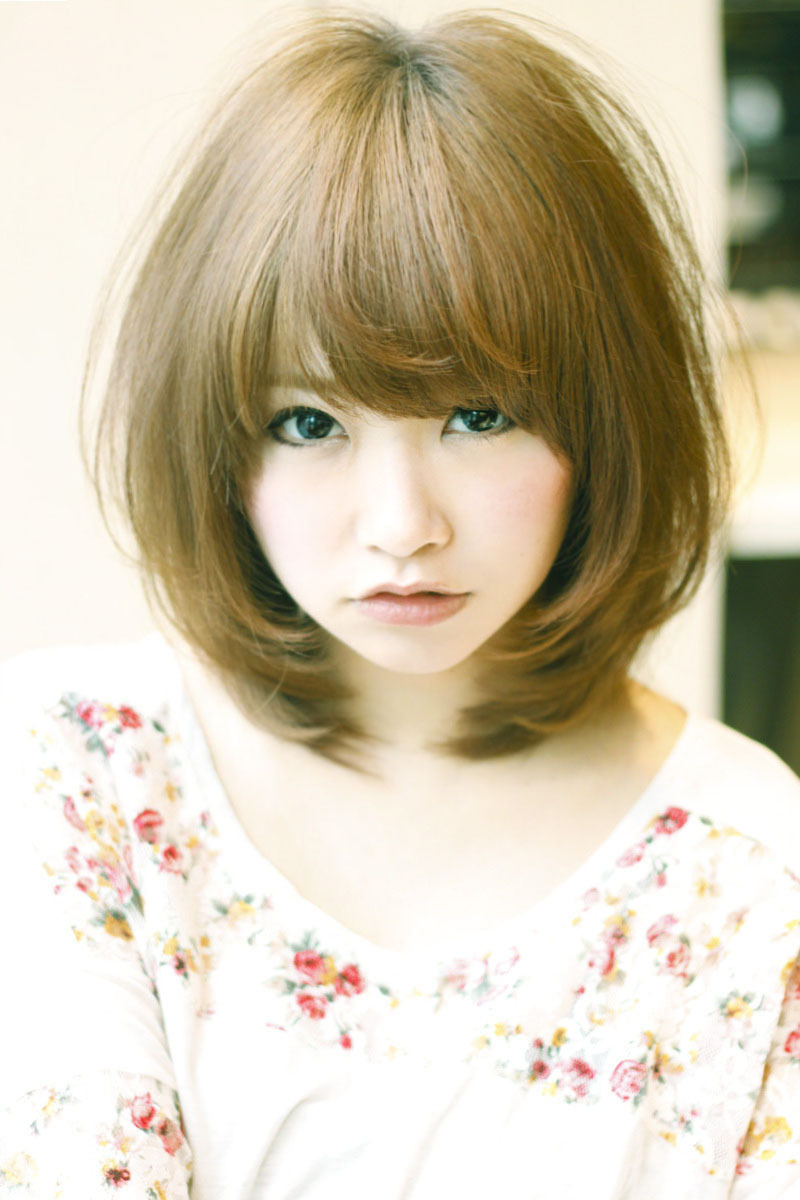 【髪型】女子受けカラーアッシュグレージュ(^_-)-☆