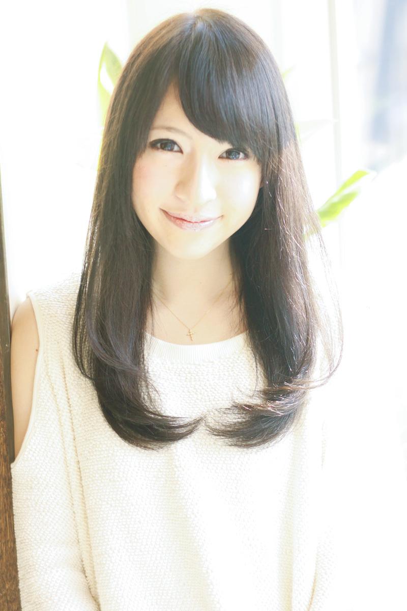 【髪型】2013 春 夏 黒髪ワンカールで清楚に!(^o^)!