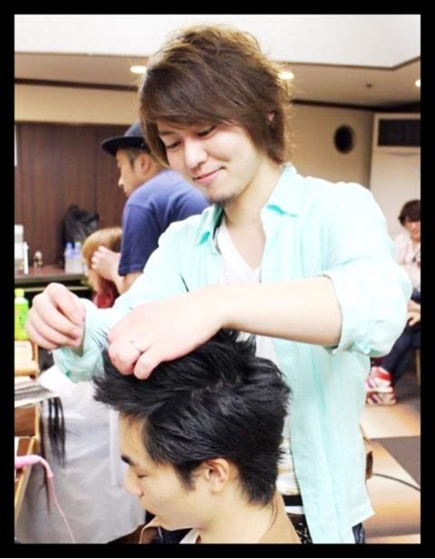 武道館でヘアショーでした!!
