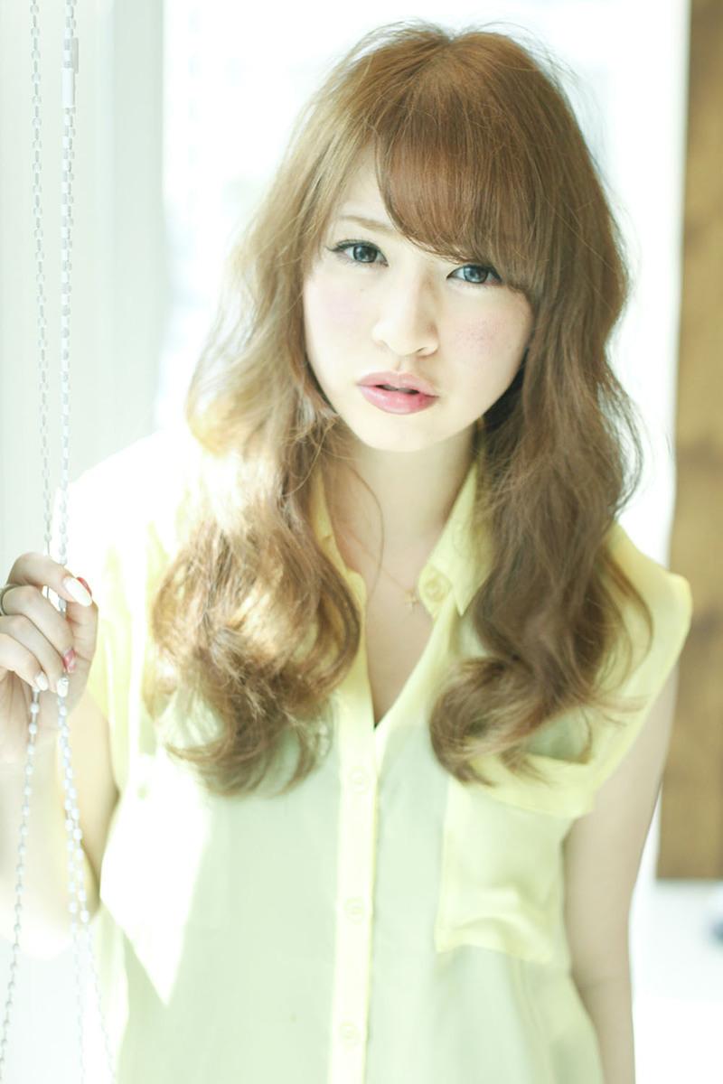 【髪型】愛されガーリーロング