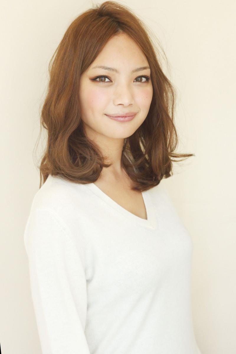 【髪型】オススメミディアム 柔らかいデジタルパーマ