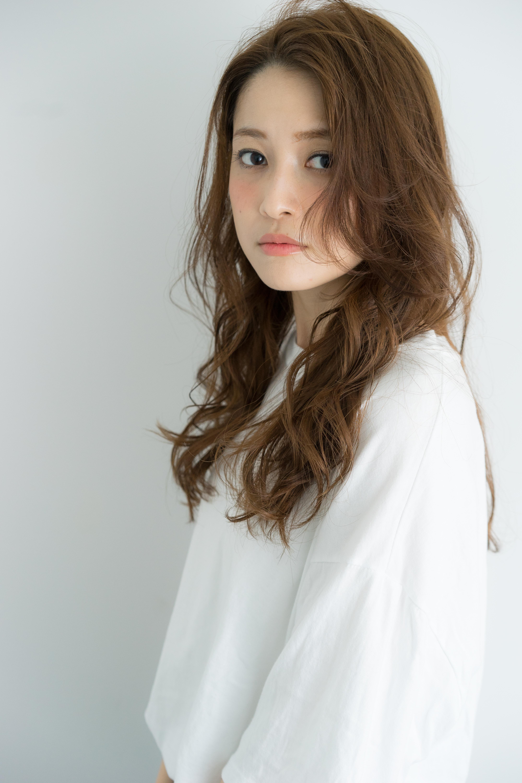【髪型】色っぽカール&リラックスバング