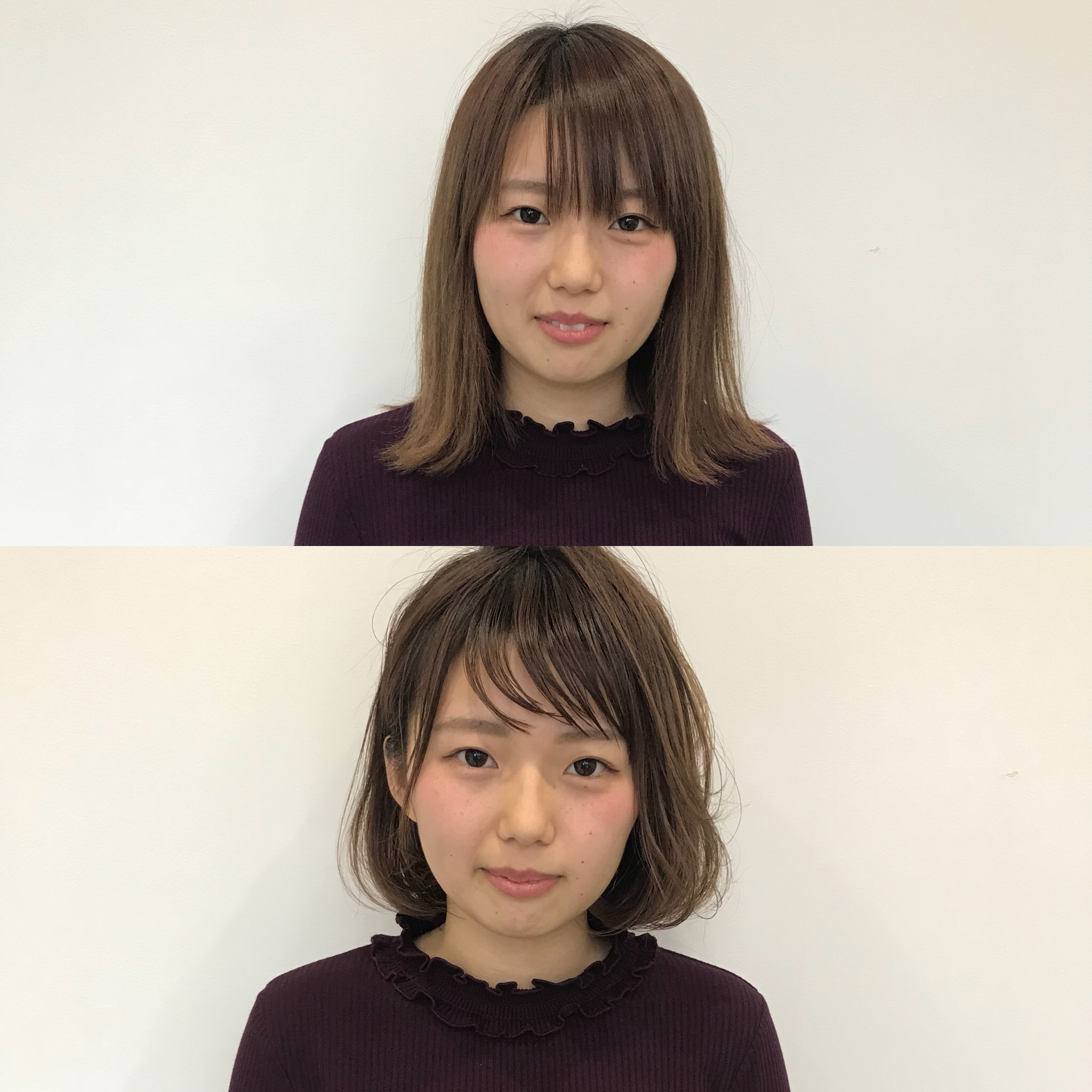 スタッフゥ〜〜のビフォーアフター