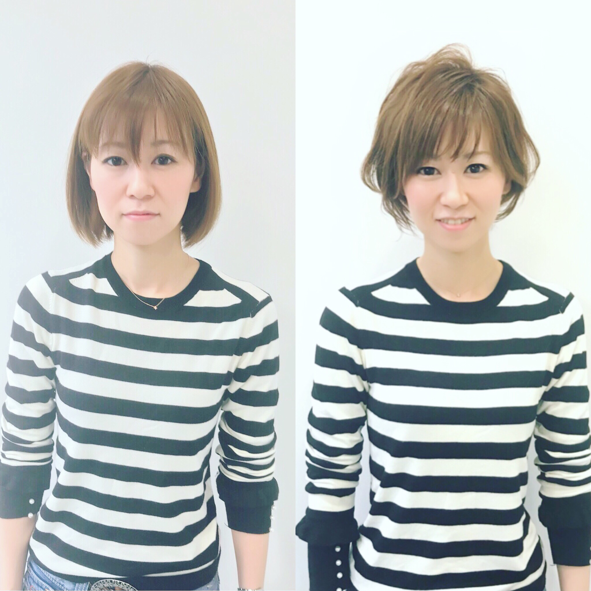 解決!!髪型ビフォーアフター!!